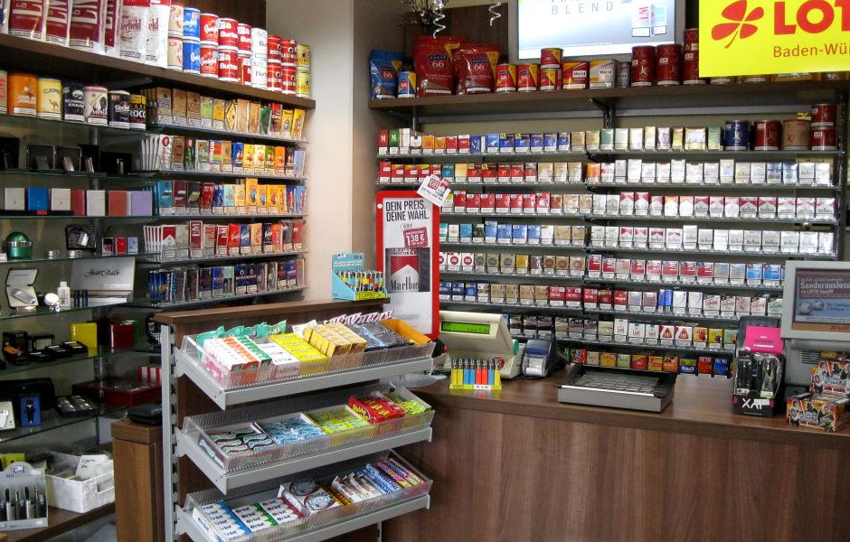 Kiosk Creashop Ladenbau Elztal Dallau